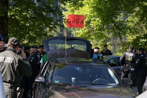 Anti-G7-Proteste am 07.06.2015 in der Region Garmisch-Partenkirchen