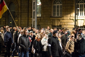 """Pegida""-Marsch am 24.11.2014 in Dresden"